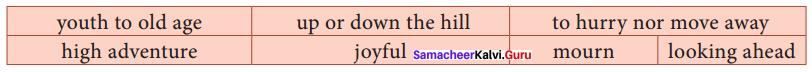 10th Life Poem Paragraph Samacheer Kalvi Chapter 1