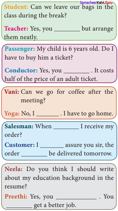 10th English Book Back Answers Chapter 1 His First Flight Samacheer Kalvi