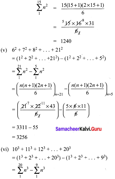 Ex 2.9 Class 10 Samacheer Kalvi Maths Solutions Chapter 2 Numbers And Sequences