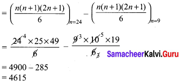 Ex 2.9 Class 10 Maths Solutions Chapter 2 Numbers And Sequences Samacheer Kalvi