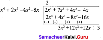 10th Maths Exercise 3.2 Samacheer Kalvi Chapter 3 Algebra
