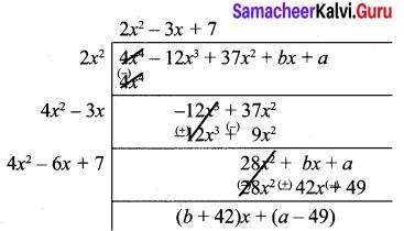 10th Maths Exercise 3.8 In Tamil Samacheer Kalvi Chapter 3 Algebra