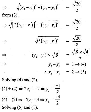 Samacheer Kalvi 10th Maths Chapter 5 Coordinate Geometry Ex 5.2 Samacheer Kalvi 10th Maths Chapter 5 Coordinate Geometry Ex 5.2 26