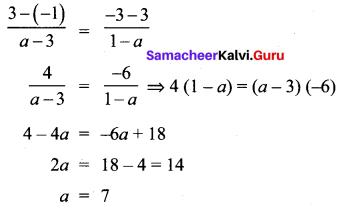 10th Maths Exercise 5.2 Chapter 5 Coordinate Geometry Samacheer Kalvi