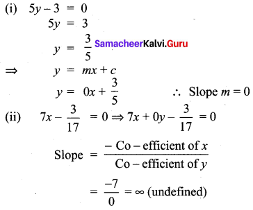 10th Maths Exercise 5.4 Samacheer Kalvi Chapter 5 Coordinate Geometry