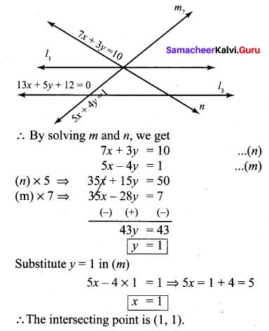 Samacheer Kalvi 10th Maths Chapter 5 Coordinate Geometry Ex 5.4 16