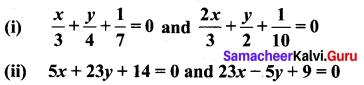 Ex 5.4 Class 10 Samacheer Maths Solutions Chapter 5 Coordinate Geometry