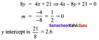 Samacheer Kalvi 10th Maths Chapter 5 Coordinate Geometry Ex 5.5 11