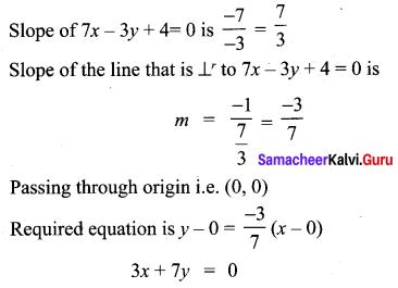 Samacheer Kalvi 10th Maths Chapter 5 Coordinate Geometry Ex 5.5 9