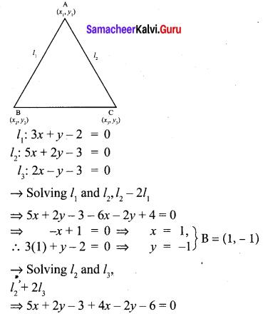 Samacheer Kalvi 10th Maths Chapter 5 Coordinate Geometry Unit Exercise 5 5
