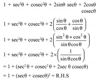 Trigonometry Exercise 6.1 Samacheer Kalvi 10th Maths Solutions Chapter 6