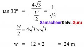 10th Maths Trigonometry Exercise 6.2 Samacheer Kalvi Chapter 6