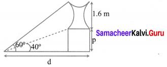 10th Samacheer Kalvi Maths Trigonometry Chapter 6 Ex 6.2