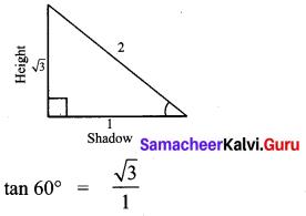 Samacheer Kalvi 10th Maths Chapter 6 Trigonometry Ex 6.5 50