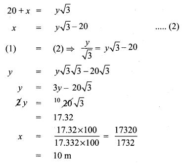 Samacheer Kalvi 10th Maths Chapter 6 Trigonometry Ex 6.5 65