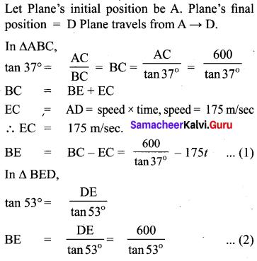 Samacheer Kalvi 10th Maths Chapter 6 Trigonometry Unit Exercise 6 12