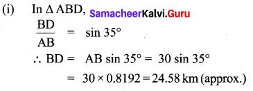 Samacheer Kalvi 10th Maths Chapter 6 Trigonometry Unit Exercise 6 13
