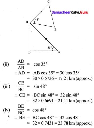 Samacheer Kalvi 10th Maths Chapter 6 Trigonometry Unit Exercise 6 14