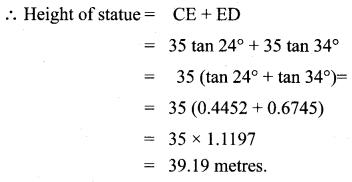 Samacheer Kalvi 10th Maths Chapter 6 Trigonometry Unit Exercise 6 18