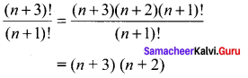 11th Maths Exercise 4.1 Solutions Chapter 4 Combinatorics And Mathematical Induction Samacheer Kalvi