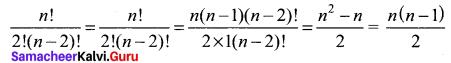 11th Maths 4.1 Solutions Chapter 4 Combinatorics And Mathematical Induction Samacheer Kalvi