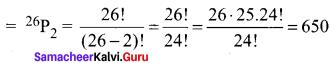 Samacheerkalvi.Guru 11th Maths Solutions Chapter 4 Combinatorics And Mathematical Induction Ex 4.1
