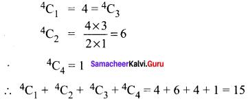 11th Maths Chapter 4 Exercise 4.2 Combinatorics And Mathematical Induction Samacheer Kalvi