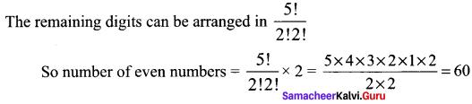 Class 11 Maths Chapter 4 Exercise 4.2 Combinatorics And Mathematical Induction Samacheer Kalvi