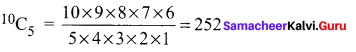 Samacheer Kalvi 11th Maths Solutions Chapter 4 Combinatorics and Mathematical Induction Ex 4.3 42