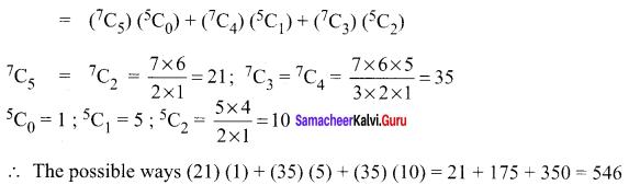Samacheer Kalvi 11th Maths Solutions Chapter 4 Combinatorics and Mathematical Induction Ex 4.3 49