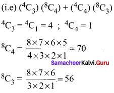 Samacheer Kalvi 11th Maths Solutions Chapter 4 Combinatorics and Mathematical Induction Ex 4.3 52