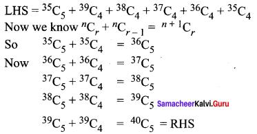 Ex 4.3 Class 11 Samacheer Kalvi Maths Solutions Chapter 4 Combinatorics And Mathematical Induction