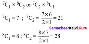 Samacheer Kalvi 11th Maths Solutions Chapter 4 Combinatorics and Mathematical Induction Ex 4.3 63