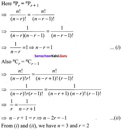 Samacheer Kalvi 11th Maths Solutions Chapter 4 Combinatorics and Mathematical Induction Ex 4.3 79