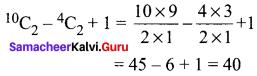 Samacheer Kalvi 11th Maths Solutions Chapter 4 Combinatorics and Mathematical Induction Ex 4.5 10