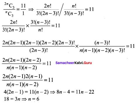 Samacheer Kalvi 11th Maths Solutions Chapter 4 Combinatorics and Mathematical Induction Ex 4.5 69