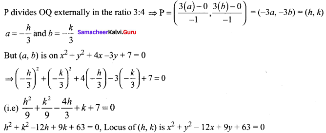 Samacheer Kalvi 11th Maths Solutions Chapter 6 Two Dimensional Analytical Geometry Ex 6.1 74