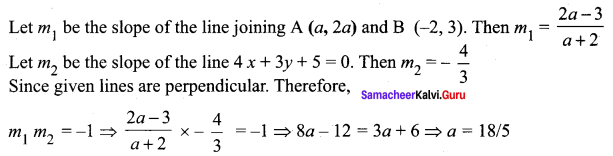 Samacheer Kalvi 11th Maths Solutions Chapter 6 Two Dimensional Analytical Geometry Ex 6.3 31