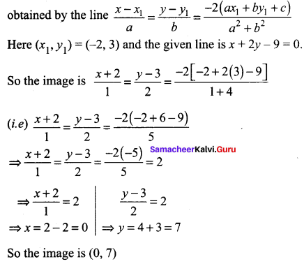 Samacheer Kalvi 11th Maths Solutions Chapter 6 Two Dimensional Analytical Geometry Ex 6.3 98
