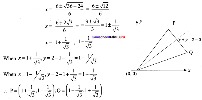 Samacheer Kalvi 11th Maths Solutions Chapter 6 Two Dimensional Analytical Geometry Ex 6.4 54