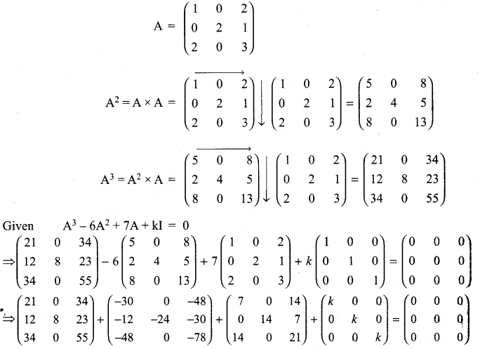 Class 11th Maths Exercise 7.1 Samacheer Kalvi Chapter 7 Matrices And Determinants