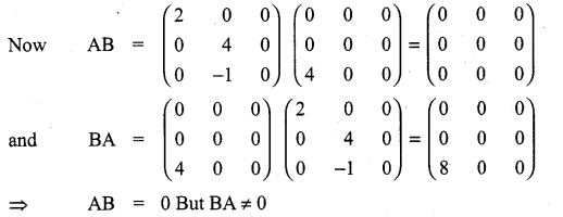 Class 11 Maths Ex 7.1 Solutions Samacheer Kalvi Chapter 7 Matrices And Determinants