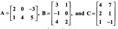 Samacheer Kalvi 11th Maths Solutions Chapter 7 Matrices and Determinants Ex 7.1 26