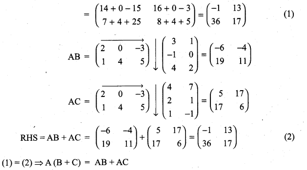 Samacheer Kalvi 11th Maths Solutions Chapter 7 Matrices and Determinants Ex 7.1 28