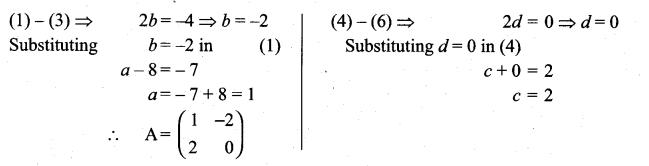 Samacheer Kalvi 11th Maths Solutions Chapter 7 Matrices and Determinants Ex 7.1 31