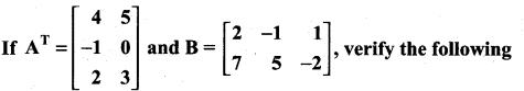 Samacheer Kalvi 11th Maths Solutions Chapter 7 Matrices and Determinants Ex 7.1 32