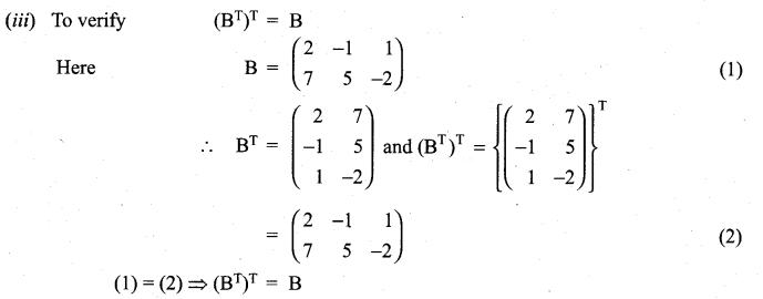 Samacheer Kalvi 11th Maths Solutions Chapter 7 Matrices and Determinants Ex 7.1 36