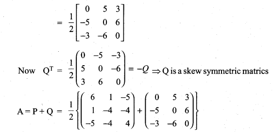 Samacheer Kalvi 11th Maths Solutions Chapter 7 Matrices and Determinants Ex 7.1 40