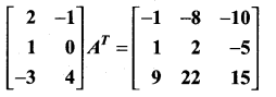 Samacheer Kalvi 11th Maths Solutions Chapter 7 Matrices and Determinants Ex 7.1 41