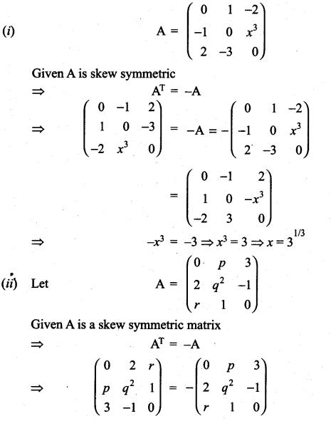 Samacheer Kalvi 11th Maths Solutions Chapter 7 Matrices and Determinants Ex 7.1 47